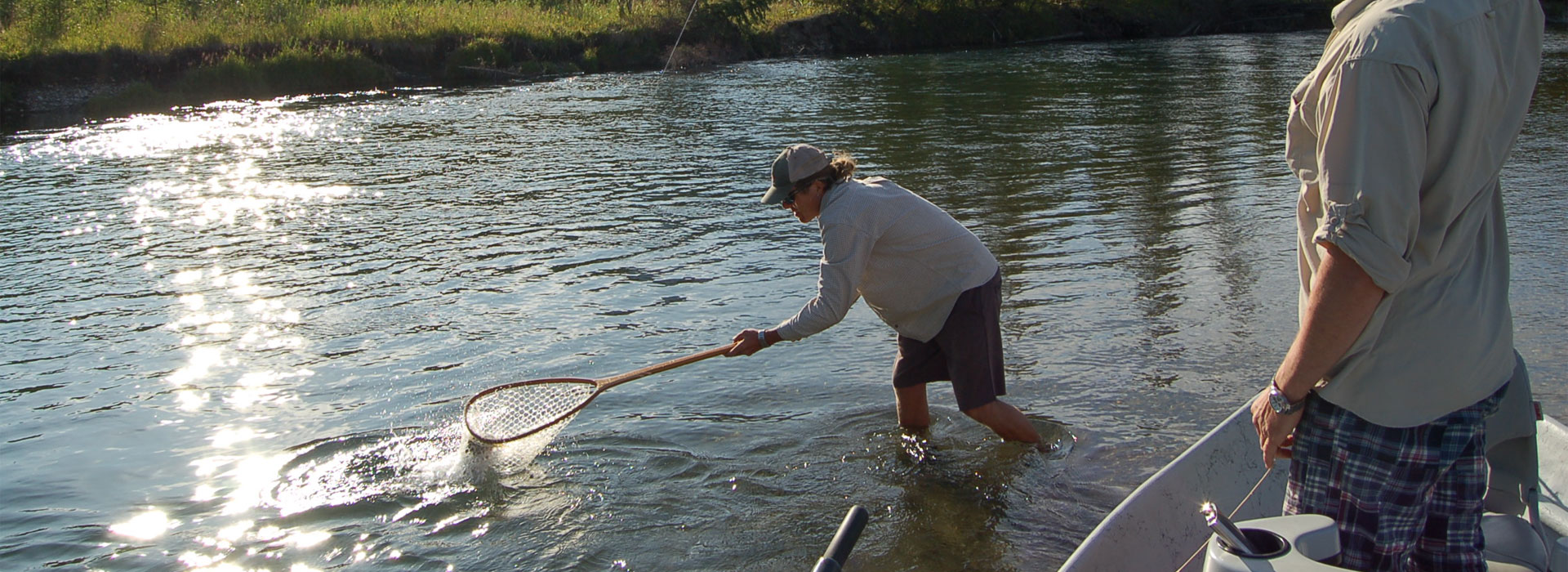 Elk river fly fishing guides holy waters for Elk river fishing